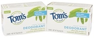 Tom's of Maine - Natural Beauty Bar Deodorant - 2 Bars x 4 oz. (077326830345)