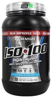 Dymatize Nutrition - ISO 100 100% Hydrolyzed Whey Protein Isolate Vanilla Cream - 1.6 lbs. (705016355013)
