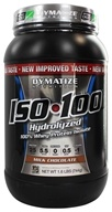 Dymatize Nutrition - ISO 100 100% Hydrolyzed Whey Protein Isolate Milk Chocolate - 1.6 lbs. (705016355006)