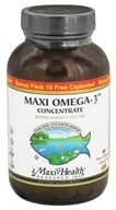 Maxi-Health Research Kosher Vitamins - Maxi Omega-3 Concentrate 90 + 10 Bonus Pack - 100 Softgels - $29.20