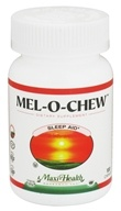 Maxi-Health Research Kosher Vitamins - Mel-o-Chew Sleep Aid Berry Flavor - 100 Chew(s)