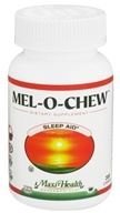Maxi-Health Research Kosher Vitamins - Mel-o-Chew Sleep Aid Berry Flavor - 200 Chew(s)