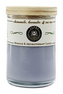 Terra Essential Scents - Massage & Aromatherapy Soy Candle Chamomile, Lavender & Tea Tree - 2.5 oz. (794504474732)