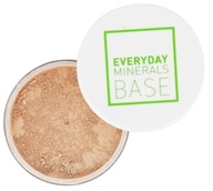 Everyday Minerals - Semi Matte Base Light Medium - 0.17 oz.