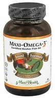 Maxi-Health Research Kosher Vitamins - Maxi-Omega-3 Joint Formula Certified Kosher Fish Oil - 90 Capsules (753406218097)