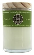 Terra Essential Scents - Massage & Aromatherapy Soy Candle Citronella Fly Away - 2.5 oz.