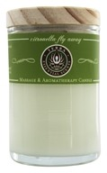 Terra Essential Scents - Massage & Aromatherapy Soy Candle Citronella Fly Away - 2.5 oz. by Terra Essential Scents