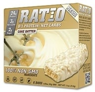 Ratio - 8:1 Protein Bars Cake Batter - 1.83 oz. (859390004019)