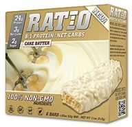 Ratio - 8:1 Protein Bars Cake Batter - 1.83 oz. by Ratio
