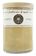 Terra Essential Scents - Massage & Aromatherapy Soy Candle Frankincense & Myrrh - 2.5 oz.