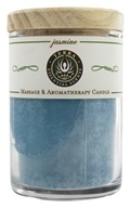 Terra Essential Scents - Massage & Aromatherapy Soy Candle Jasmine - 2.5 oz. (794504475531)