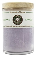 Terra Essential Scents - Massage & Aromatherapy Soy Candle Lavender Blossom - 2.5 oz.