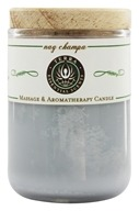 Terra Essential Scents - Massage & Aromatherapy Soy Candle Nag Champa - 2.5 oz. by Terra Essential Scents