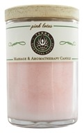 Terra Essential Scents - Massage & Aromatherapy Soy Candle Pink Lotus - 2.5 oz.