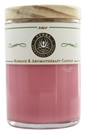 Terra Essential Scents - Massage & Aromatherapy Soy Candle Rose - 2.5 oz. by Terra Essential Scents