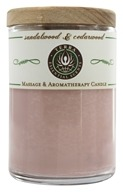 Terra Essential Scents - Massage & Aromatherapy Soy Candle Sandalwood & Cedarwood - 2.5 oz. (794504476835)