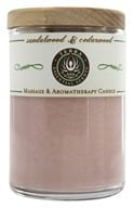 Terra Essential Scents - Massage & Aromatherapy Soy Candle Sandalwood & Cedarwood - 2.5 oz. by Terra Essential Scents