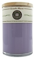Terra Essential Scents - Massage & Aromatherapy Soy Candle Lavender Blossom - 12 oz. by Terra Essential Scents