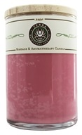 Terra Essential Scents - Massage & Aromatherapy Soy Candle Rose - 12 oz. by Terra Essential Scents