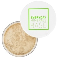 Everyday Minerals - Semi Matte Base Fairly Light Neutral - 0.17 oz.
