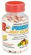 B Fresh - Breath Freshening Sugar Free Gum Mixed Fruit - 100 Piece(s), from category: Health Foods