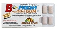 B Fresh - Breath Freshening Sugar Free Gum Mixed Fruit - 12 Piece(s), from category: Health Foods