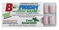 B Fresh - Breath Freshening Sugar Free Gum Cool Spearmint - 12 Piece(s) by B Fresh