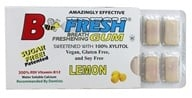 B Fresh - Breath Freshening Sugar Free Gum Lemon - 12 Piece(s), from category: Health Foods