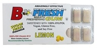 Image of B Fresh - Breath Freshening Sugar Free Gum Lemon - 12 Piece(s)