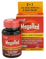 Schiff - MegaRed Omega-3 Multivitamin - 60 Softgels by Schiff