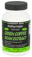 Healthy Origins - Natural Green Coffee Bean Extract 200 mg. - 120 Vegetarian Capsules