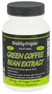 Healthy Origins - Natural Green Coffee Bean Extract 400 mg. - 60 Vegetarian Capsules (603573763633)