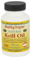 Healthy Origins - Natural Krill Oil 500 mg. - 60 Softgels - $15.98