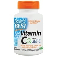 Doctor's Best - Best Vitamin C 500 mg. - 120 Vegetarian Capsules - $8.99