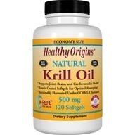 Healthy Origins - Natural Krill Oil 500 mg. - 120 Softgels by Healthy Origins