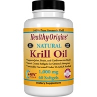 Healthy Origins - Natural Krill Oil 1000 mg. - 60 Softgels, from category: Nutritional Supplements
