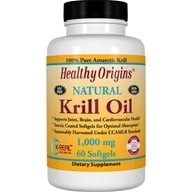 Image of Healthy Origins - Natural Krill Oil 1000 mg. - 60 Softgels