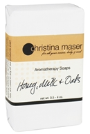 Christina Maser - Aromatherapy Bar Soap Honey, Milk & Oats - 3.5 oz. - $4.99