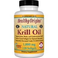 Healthy Origins - Natural Krill Oil 1000 mg. - 120 Softgels by Healthy Origins