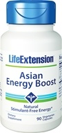 Life Extension - Asian Energy Boost - 90 Vegetarian Capsules (737870180593)