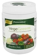 Proventive - VegeGreens Natural Berry Flavor - 18.7 oz. by Proventive