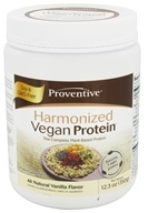 Proventive - Harmonized Vegan Protein All Natural Vanilla Flavor - 12.3 oz. by Proventive