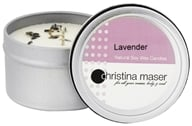 Christina Maser - Natural Soy Wax Candle Lavender - 6 oz.