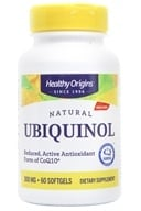 Healthy Origins - Ubiquinol Kaneka QH 300 mg. - 60 Softgels by Healthy Origins