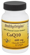 Healthy Origins - CoQ10 Kaneka Q10 Gels 600 mg. - 30 Softgels, from category: Nutritional Supplements