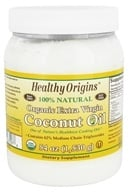 Image of Healthy Origins - Organic Extra Virgin Coconut Oil - 54 oz.