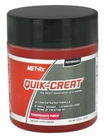 MET-Rx - Quik-Creat Powder Pomegranate Punch - 3.52 oz.