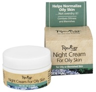 Reviva Labs - Night Cream For Oily Skin - 0.75 oz.