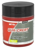 MET-Rx - Quik-Creat Creatine Powder Lemon Lime - 3.52 oz. by MET-Rx