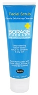 Shikai - Borage Therapy Facial Scrub Gentle Exfoliating Cleanser - 4.2 oz.